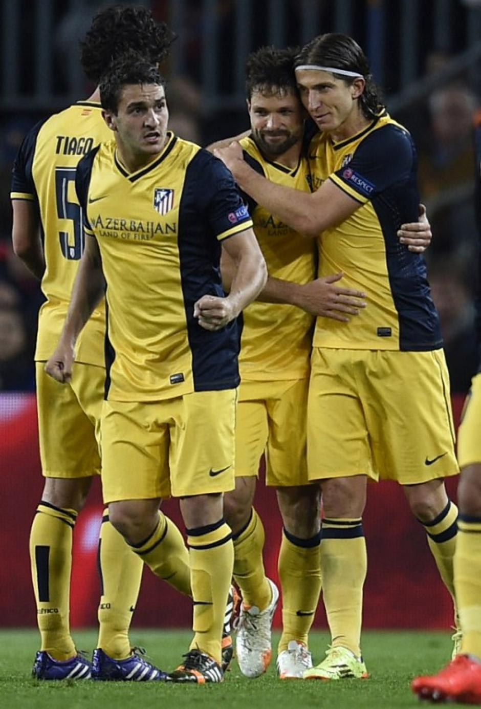 Diego Ribas anotó el 0-1 en el Camp Nou al minuto 56 y puso en aprietos al Barcelona