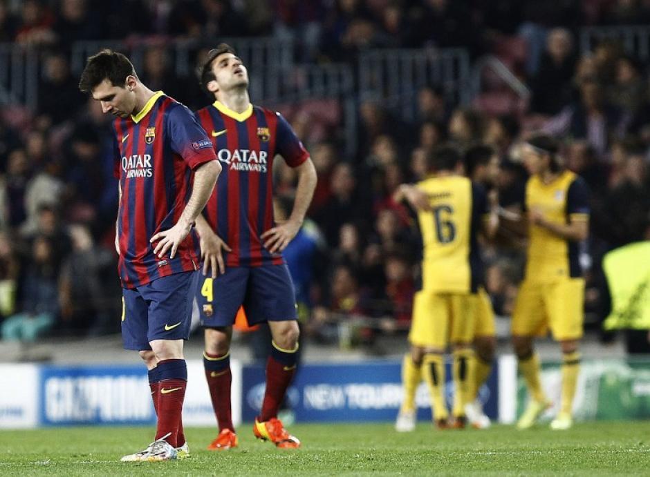 El Barcelona perdió dos puntos en casa al empatar 1-1 ante el Atlético de Madrid y todo se decidirá en el juego de vuelta en el Vicente Calderón. (Foto: AFP)
