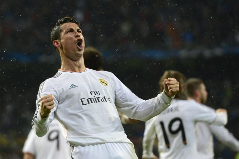 Cristiano Ronaldo anotó el 3-0 al minuto 57 para el Real Madrid. (Foto: AFP)
