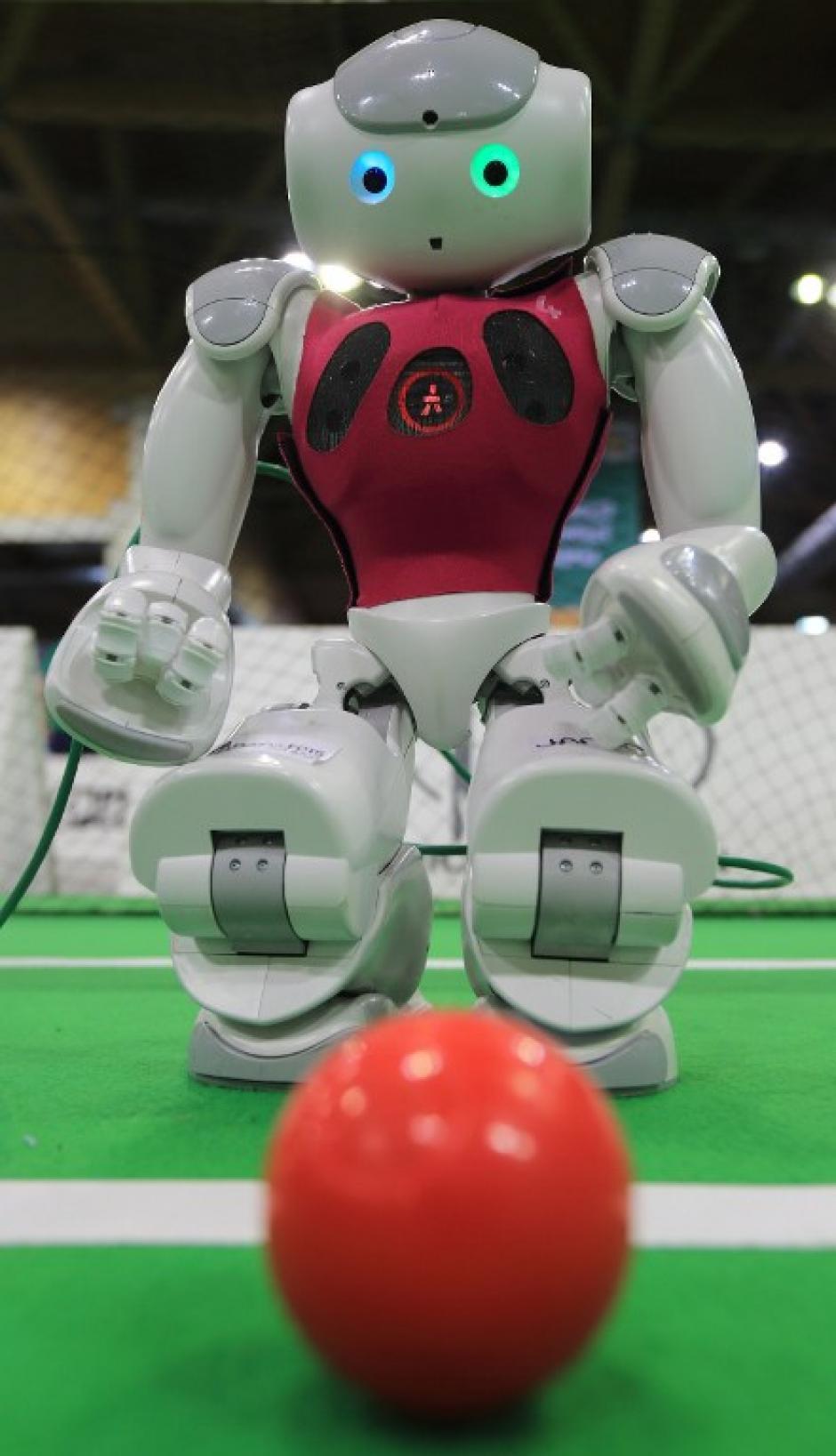 El certamen está pensado para promover la investigación en robótica e inteligencia artificial. (Foto: AFP)