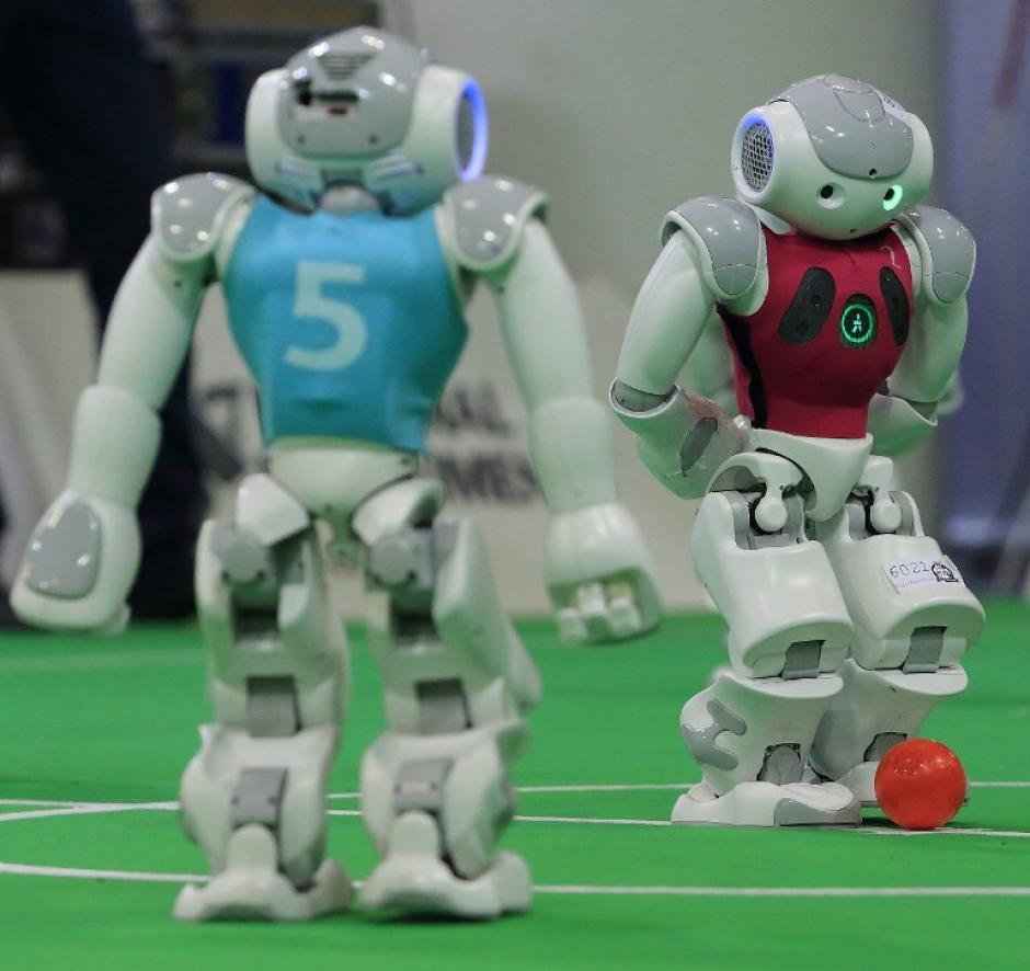 Los expertos consideran una oportunidad única para ver los últimos avances en robótica aplicados a la simulación deportiva. (Foto: AFP)