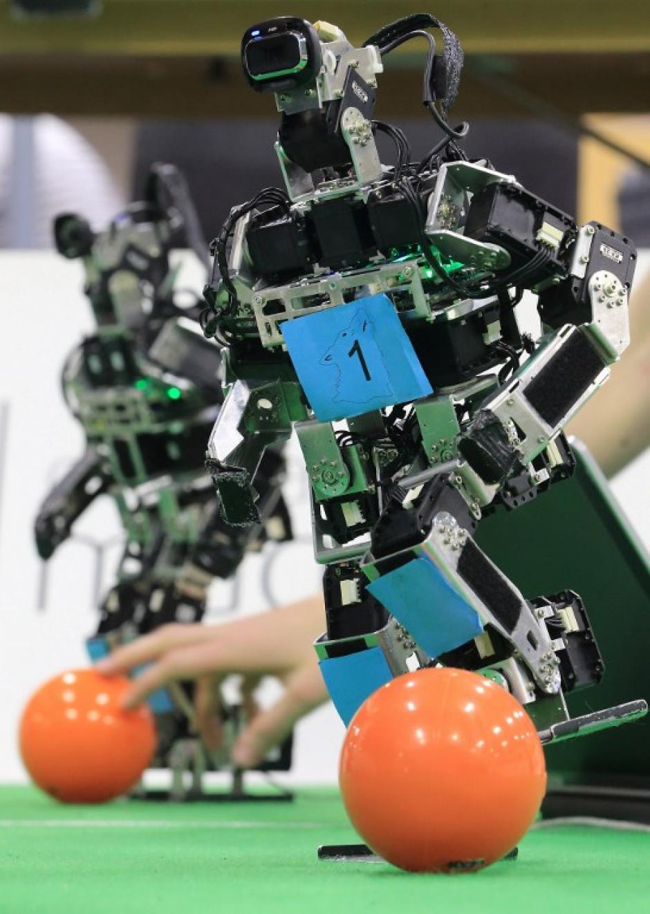 La próxima gran competición mundial de la RoboCub será este verano en Brasil, coincidiendo con el mundial de fútbol. (Foto: AFP)