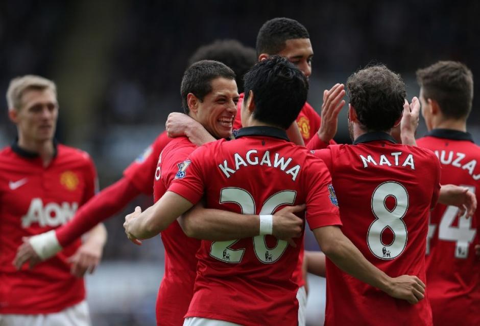 "El ""Man U"" revivió al derrotar 4-0 de visita al Newcastle."
