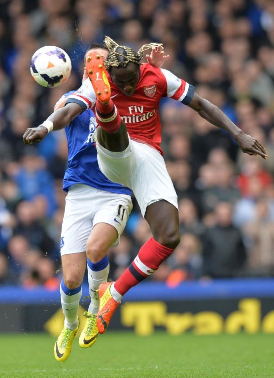 El Arsenal cayó 3-0 en el campo del Everton. (Foto: AFP)