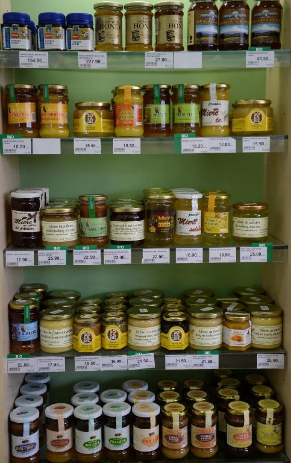 En Rumanía, país con una naturaleza exuberante surcada por los montes Cárpatos, los productos de la colmena siempre han estado muy presentes en la medicina tradicional. (Foto: AFP/DANIEL MIHAILESCU)
