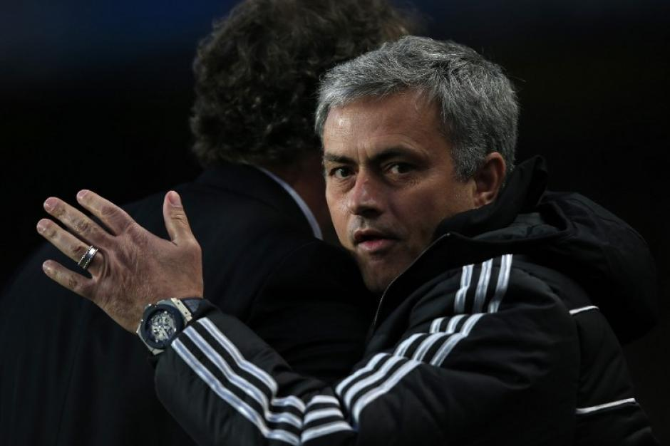 Jose Mourinho sufrió, pero sigue en la disputa de la Champions League 2014. (Foto: AFP)