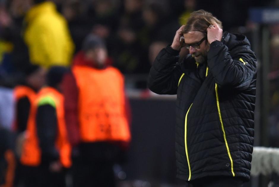 Klopp perdió su oportunidad de seguir vivo en la Champions y tampoco podrá coronarse en la Bundesliga. (Foto: AFP)