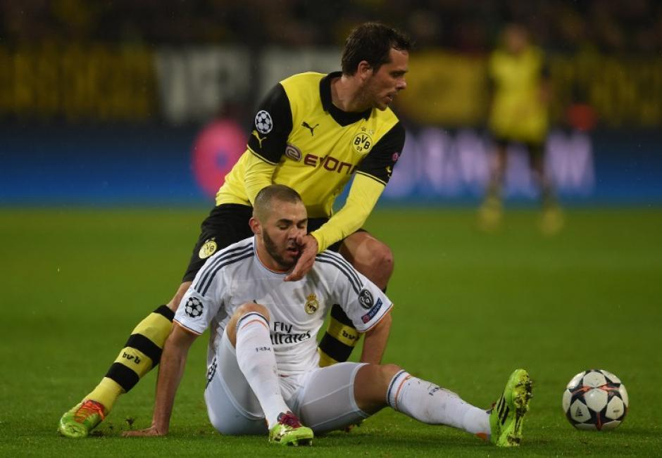 Benzema no tuvo uno de sus mejores encuentros y el Madrid resintió la ausencia de Cristiano Ronaldo. (Foto: AFP)