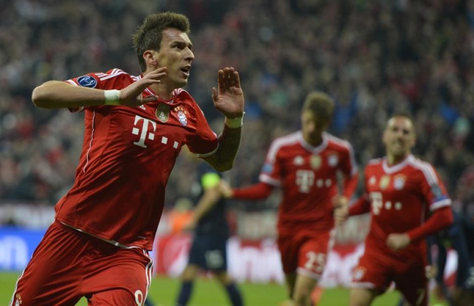 El Bayern Munich superó al Manchester United y avanza a la semifinal de la Liga de Campeones de Europa. (Foto: AFP)