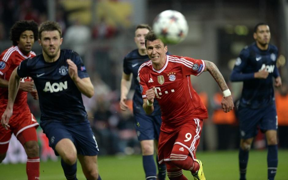 El Bayern Munich superó al Manchester United y avanza a la semifinal de la Champions League 2014. (Foto: AFP)