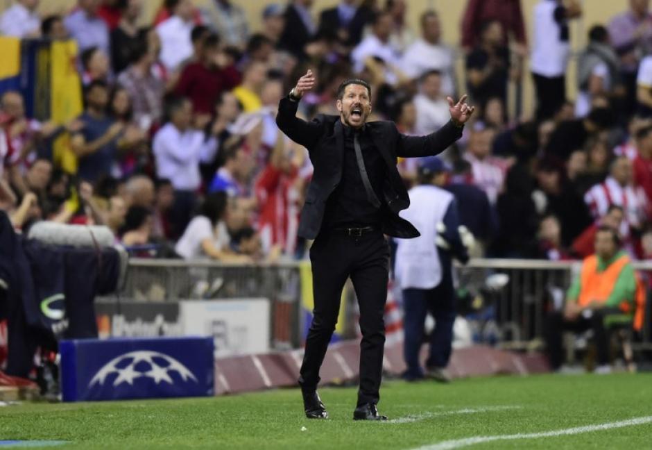"""Diego """"el Cholo"""" Simeone es el timonel de los rojiblancos. (Foto: AFP)"""