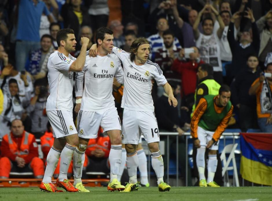 Bale también dijo presente con una anotación al minuto 52. (Foto: AFP)