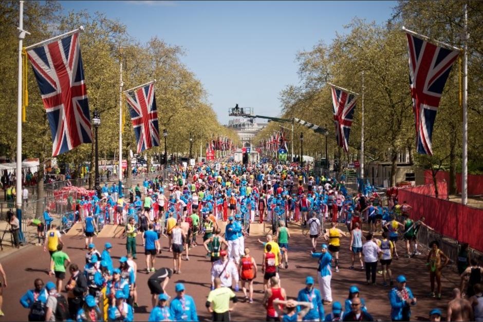 Unos 36,000 corredores participaron en el Maratón de Londres