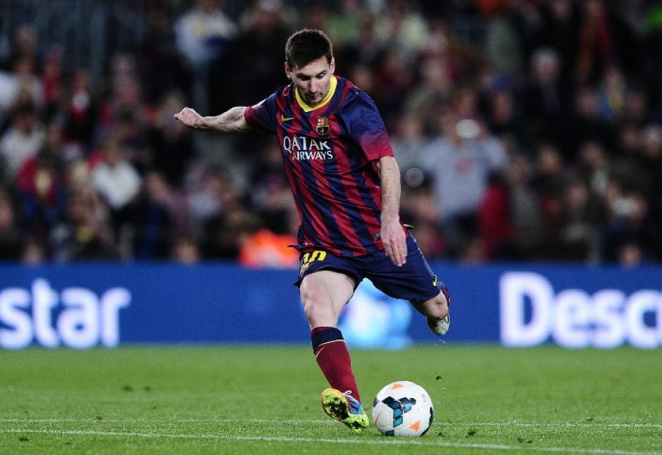 Messi anotó la remontada con un golazo de tiro libre. (Foto: AFP)