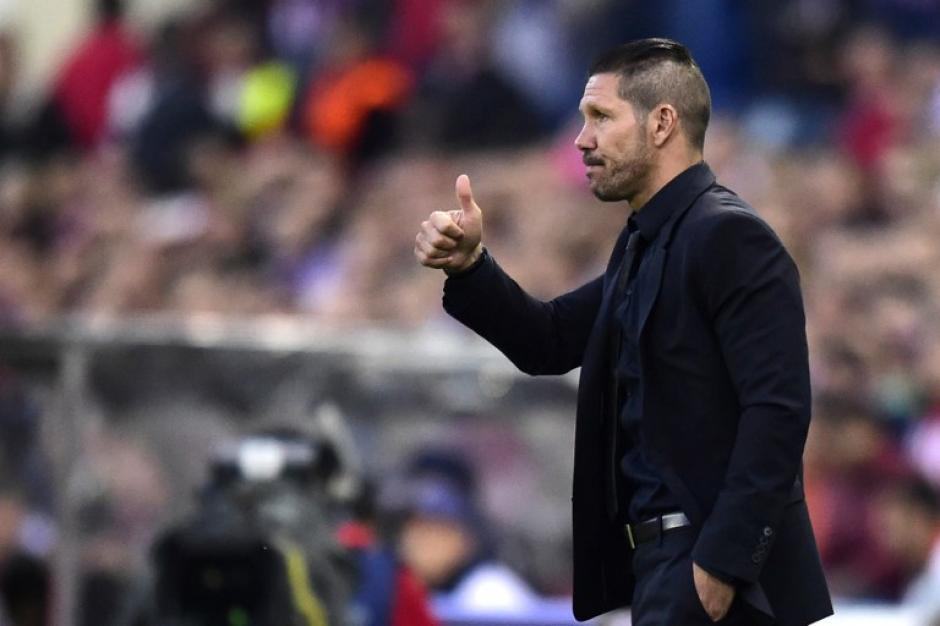 Diego Simeone llegó a su primera semifinal de Champions como director técnico del Atlético de Madrid. (Foto: AFP)