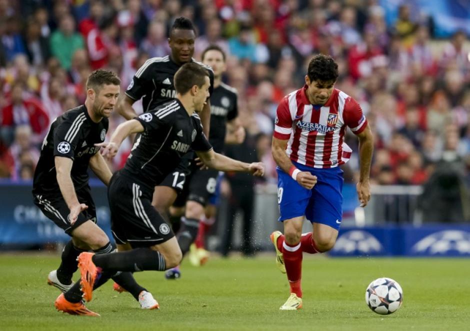 Diego Costa es uno de los mayores peligros para el Chelsea. (Foto: AFP)