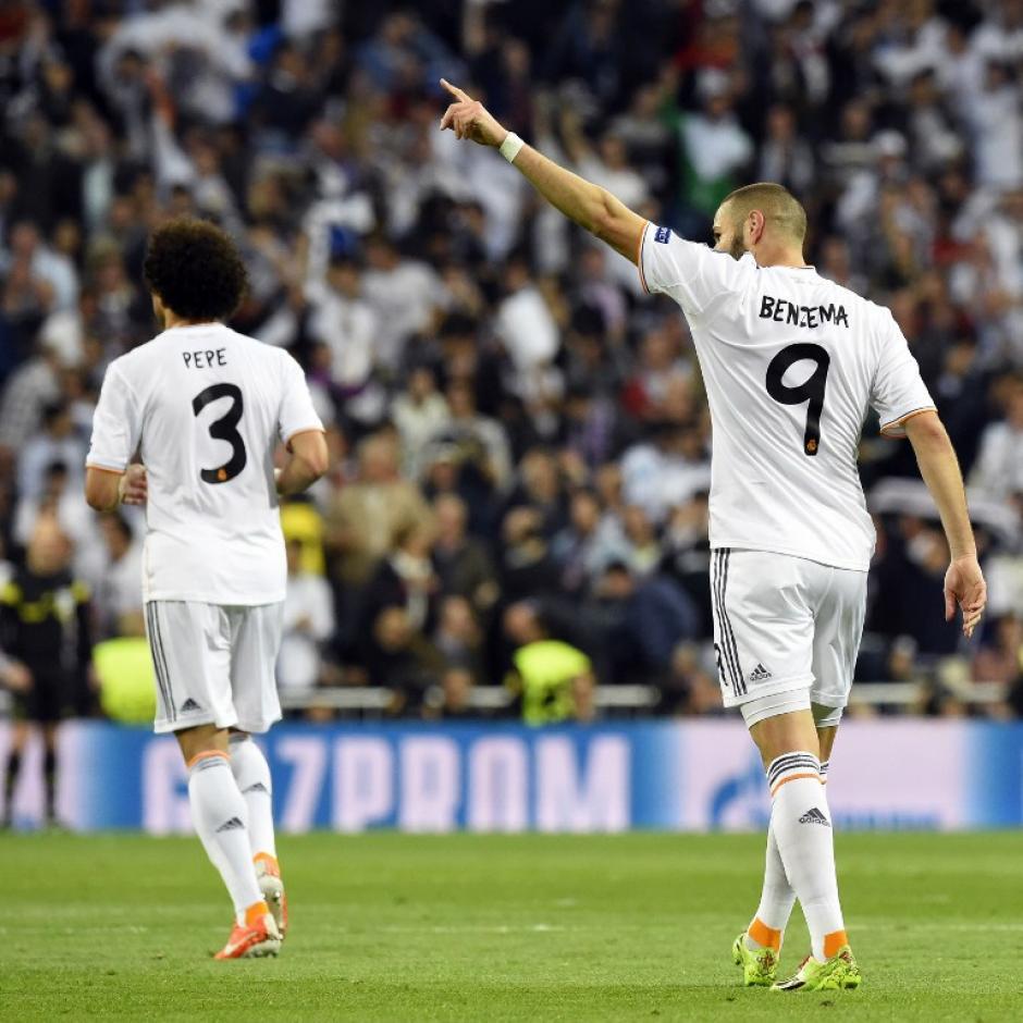 Cristiano Ronaldo entró de titular, pero fue Benzema el verdugo de los alemanes en el primer tiempo. (Foto: AFP)