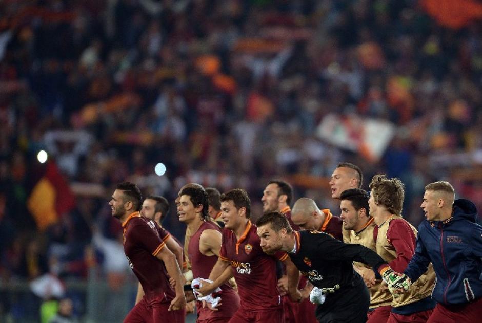 Roma está a cinco puntos del puntero, Juventus