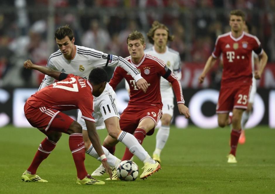 Gareth Bale fue el sacrificado y realizó además de un gran trabajo en el ataque, un muy buen esfuerzo en defensa