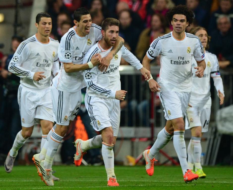 El Real Madrid consiguió una victoria 4-0 en el Allianz Arena y con esto se convierte en el primer equipo clasificado a la final de la Champions. (Foto: AFP)