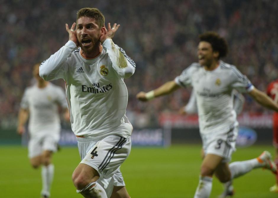 Ramos y Cristiano Ronaldo anotaron en el primer tiempo por el Madrid. (Foto: AFP)