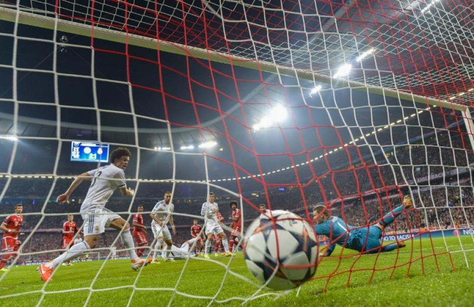 El Madrid silenció al Allianz Arena con tres goles en el primer tiempo. (Foto: AFP)