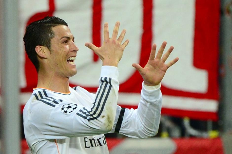 Ronaldo llegó a 15 goles y es el máximo goleador en una sola temporada en la Champions. (Foto: AFP)