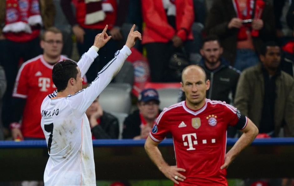 Alto contraste en el Allianz Arena, los merengues celebraron y los alemanes se derrumbaron. (Foto: AFP)