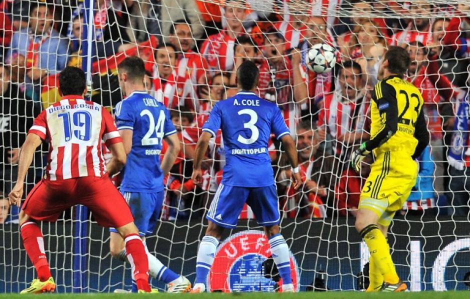 El gol del Atlético fue obra de Koke. (Foto: AFP)