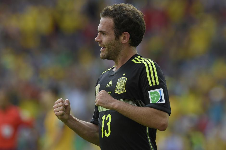 Mata entró por Villa en el segundo tiempo y anotó el 3-0. (Foto: AFP)