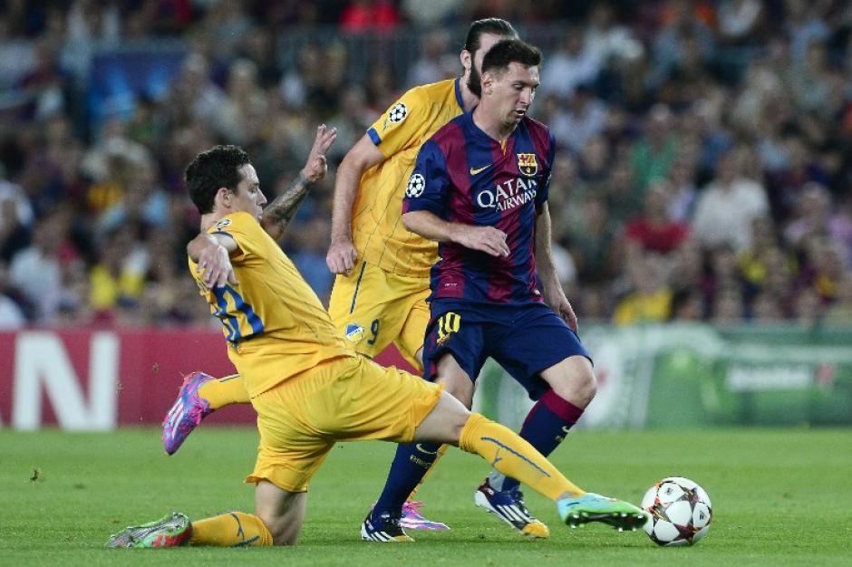 El barcelona derrota al apoel en el camp nou soy502 - Apartamentos dv barcelona ...