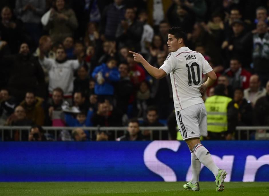 James ya quiere estar de vuelta para jugar con el Real Madrid y la selección de Colombia