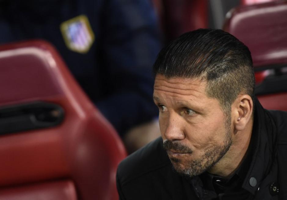 """El """"Cholo"""" Simeone le tiene respeto mas no miedo al Barcelona"""