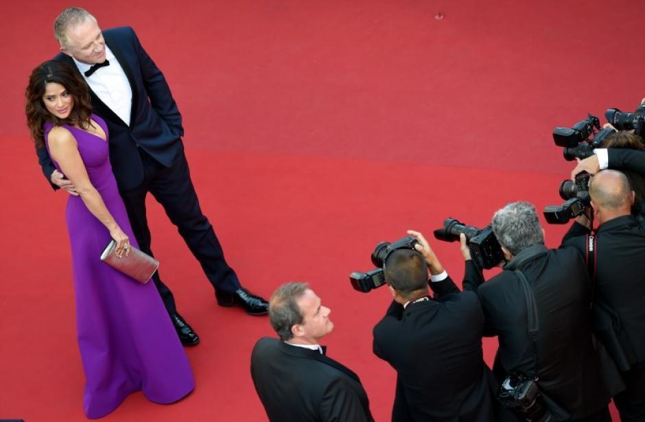 La actriz mexicana aprovechó para reprochar malas costumbres en el cine hollywoodense para con sus actrices. (Foto: AFP)