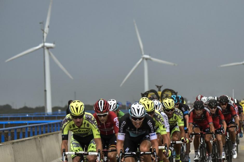 Se corrió la segunda etapa del Tour de France. (Foto: AFP)
