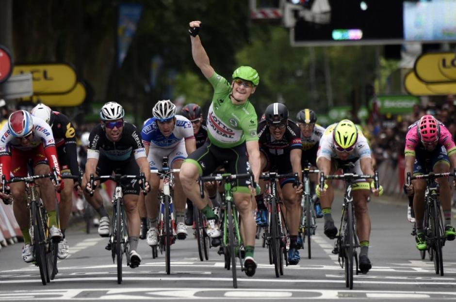 Griepel ganó su segunda etapa del Tour de France y el líder sigue siendo Tony Martin