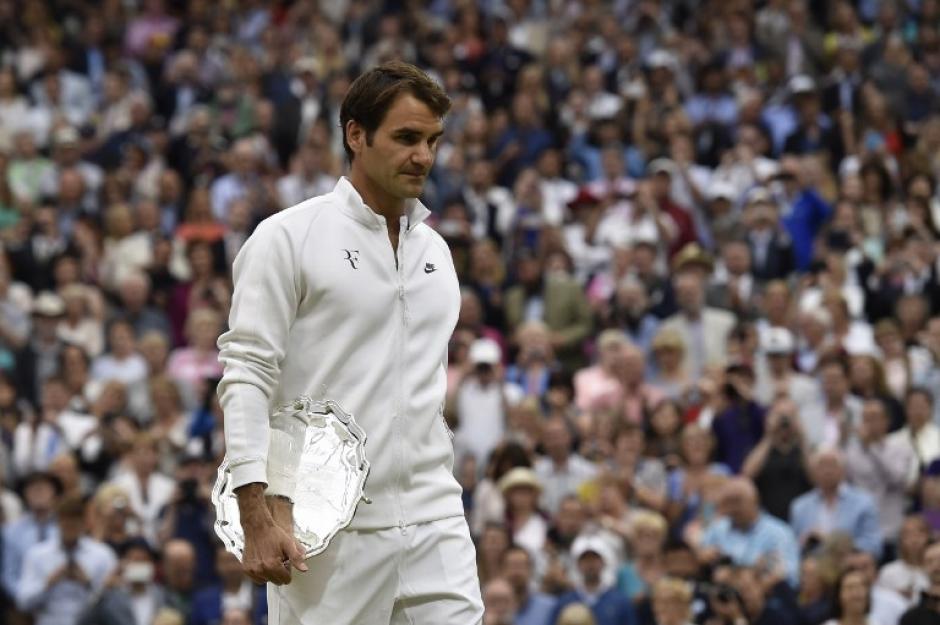 Roger Federer se quedó con el segundo puesto tras derrotar a Djokovic en la final. (Foto: AFP)