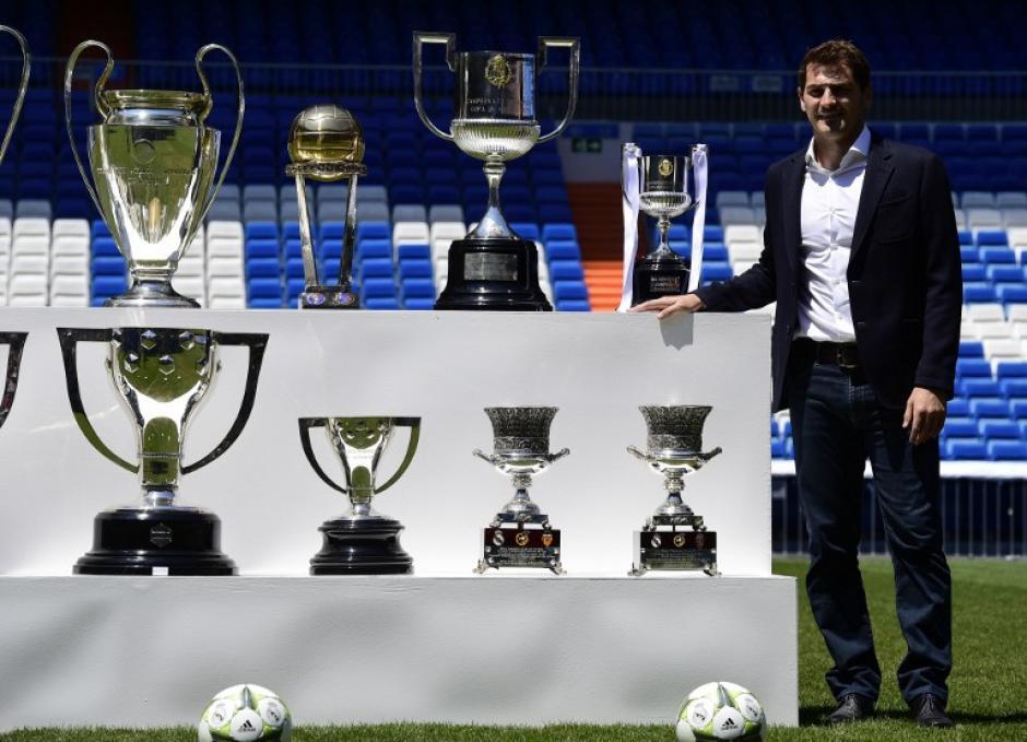 Iker Casillas se unirá a la pretemporada del Oporto tras finalizar su relación con el Real Madrid.(Foto: AFP)