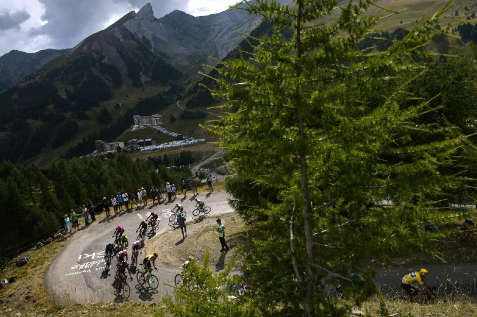 La etapa 17 del Tour de France consistió en 161 kilómetros. (Foto: AFP)
