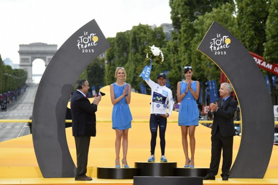 Nairo Quintana se quedó con el segundo puesto del certamen