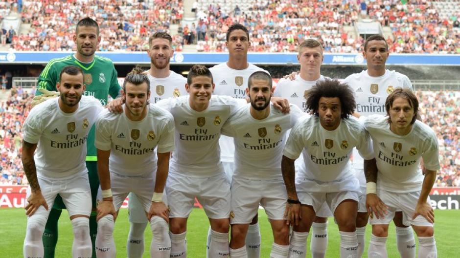El cuadro titular del Real Madrid de Benítez ante el Tottenham. (Foto: AFP)