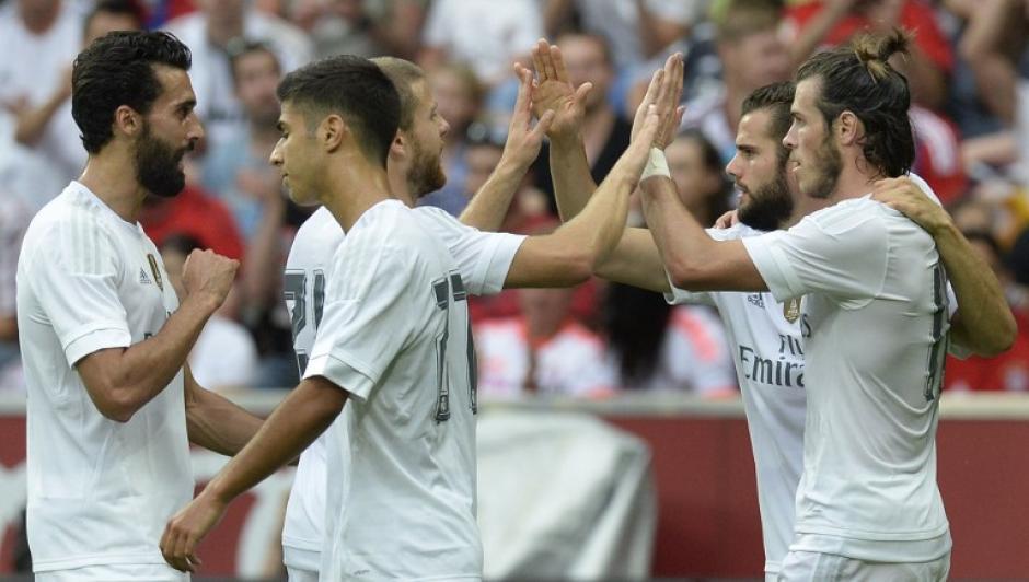 Los jugadores madridistas han obtenido buenos resultados durante su pretemporada. (Foto: AFP)