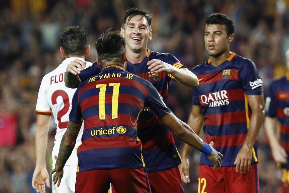 Neymar y Messi llegaron para ayudar al Barcelona a regresar al camino del triunfo. (Foto: AFP)