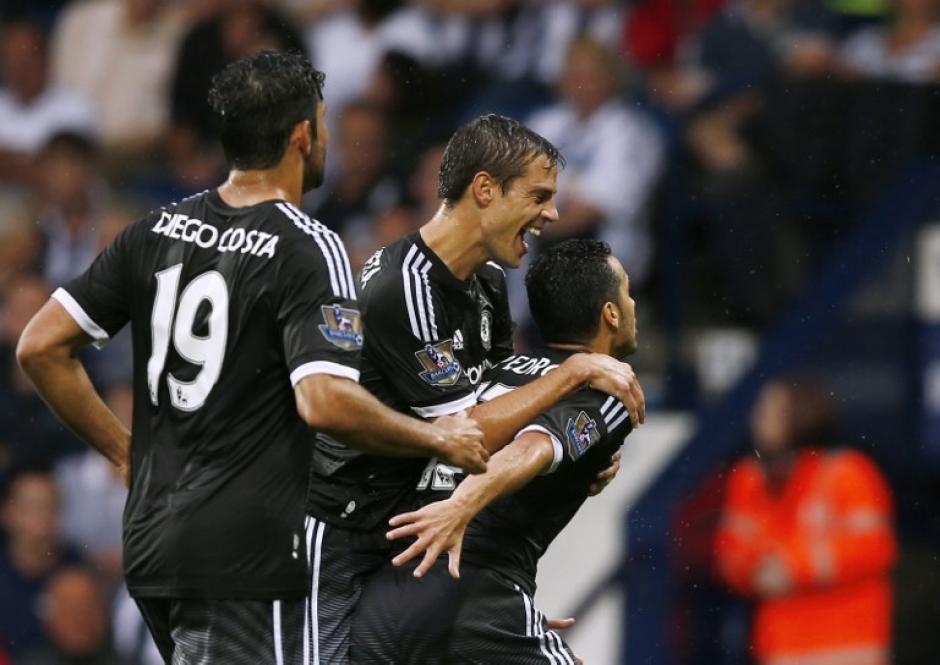 Pedro debutó con gol luego de oficializarse como el último fichaje del Chelsea para la presente temporada. (Foto: AFP)