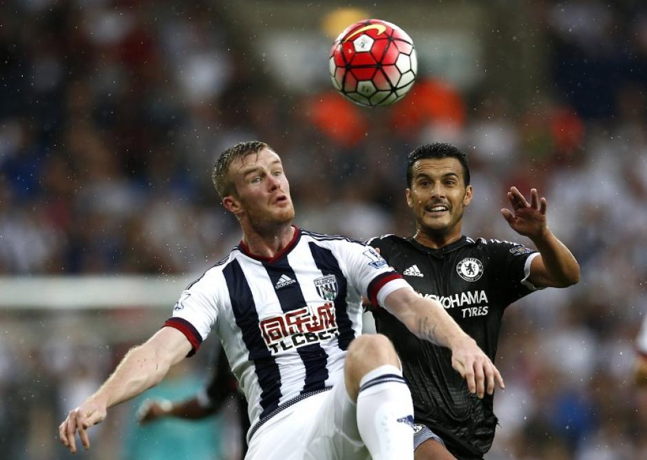 Pedro tuvo un gran debut con el Chelsea del fútbol inglés de la Premier League. (Foto: AFP)