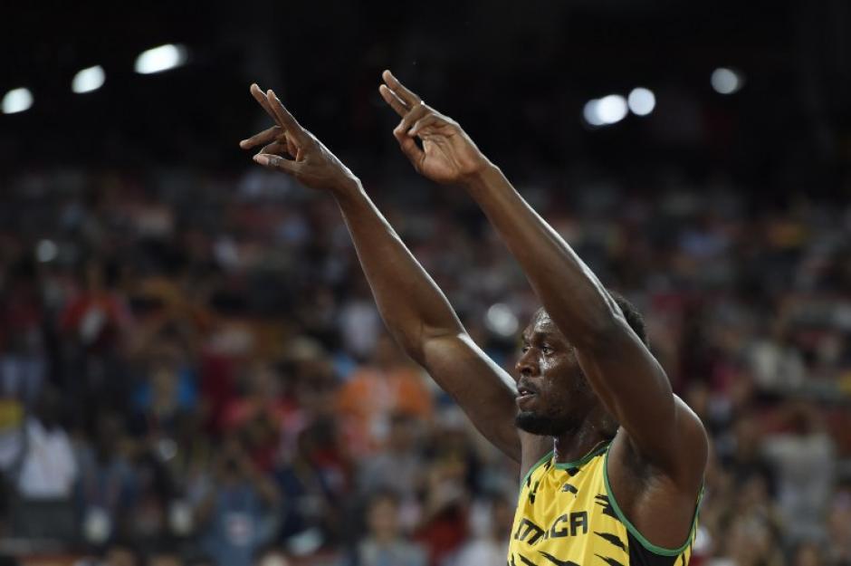 De nuevo, Usain Bolt, es considerado sin ninguna duda el hombre más rápido del planeta. (Foto: AFP)