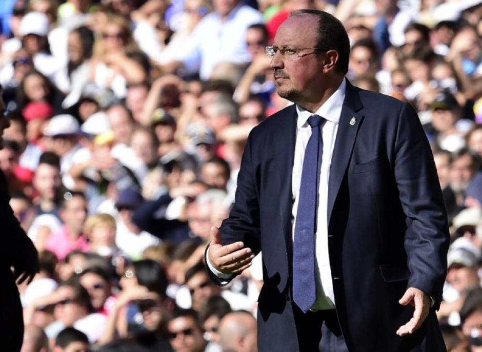 Benítez está teniendo un muy mal momento como director técnico del Real Madrid