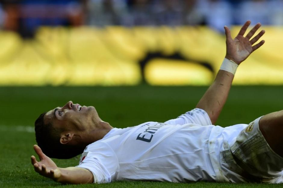 Cristiano Ronaldo lamentó el no haber podido anotar. (Foto: AFP)