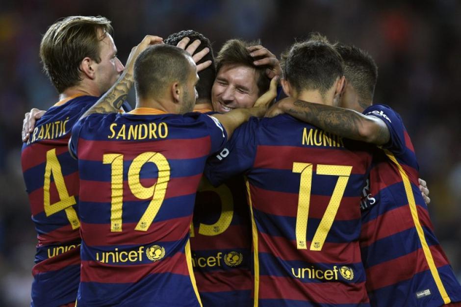 El Barcelona se reafirmó en el liderato tras derrotar 4-1 al Levante. (Foto: AFP)