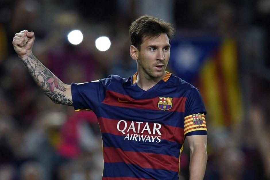 Messi de nuevo fue el estandarte del Barcelona. (Foto: AFP)